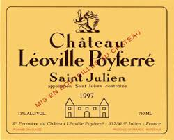 etiquette Leoville poyferre